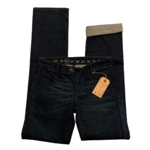 Earnest Sewn NWT boyfriend jeans w tab front, 26